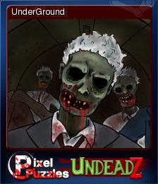 Pixel Puzzles UndeadZ Card 07