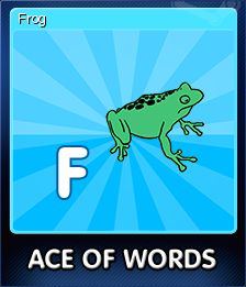 Ace Of Words Card 6