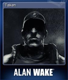Alan Wake Card 8