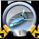 Direct Hit Missile War Badge 1