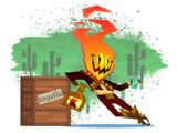 Guacamelee! Gold Edition - Flame Face