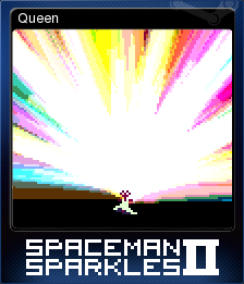 Spaceman Sparkles 2 Card 1
