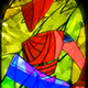 Stained Badge 5