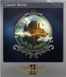 Warlock 2 the Exiled Card 04 Foil
