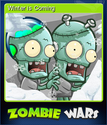 Zombie Wars Invasion Card 5