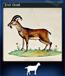 Goat Simulator Evil Goat Steam Trading Cards Wiki Fandom