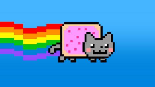 Nyan Cat Lost In Space Artwork 1