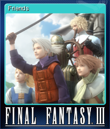 FINAL FANTASY III Card 3