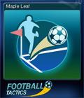 Football Tactics Card 07