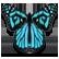 Lili Child of Geos Emoticon geosbutterfly