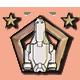 FTL Faster Than Light Badge 3