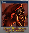Save Halloween City of Witches Foil 08
