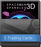 Spaceman Sparkles 3D Booster Pack