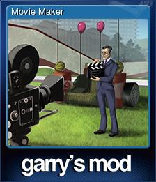 Garry's Mod - Movie Maker | Steam Trading Cards Wiki