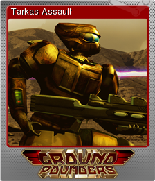 Ground Pounders Card 09 Foil
