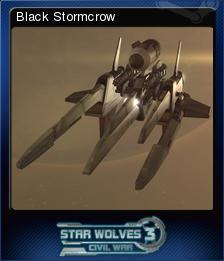 Star Wolves 3 Civil War Card 9