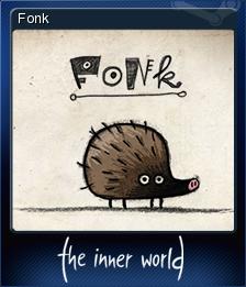 The Inner World Card 5 Fonk