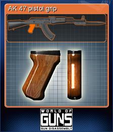 World of Guns Gun Disassembly Card 13