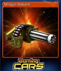 Burning Cars Card 2