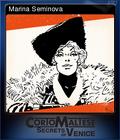 Corto Maltese Secrets of Venice Card 5