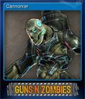 Guns n Zombies Card 5