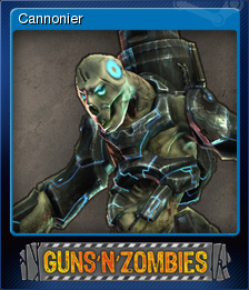 Guns n Zombies Card 5