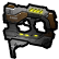 A.R.E.S. Extinction Agenda Emoticon gun