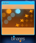 Binaries Card 4