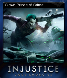 Injustice Gods Among Us Card 5