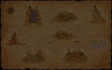 Marooners Background Treasure Map