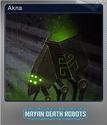Mayan Death Robots Foil 6