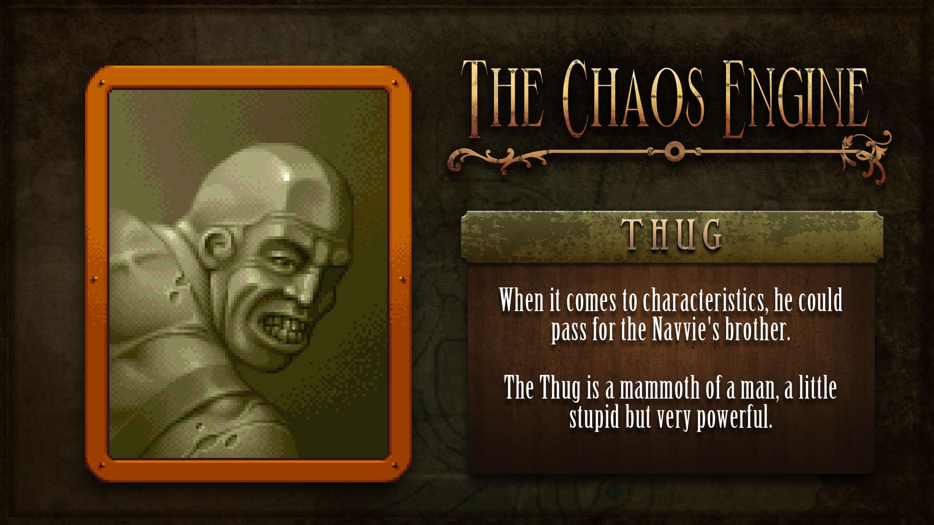Characteristics of a thug