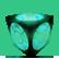 Why So Evil Emoticon LightBlueCube