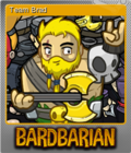 Bardbarian Foil 4