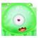 Beast Blaster Emoticon greenbeast1