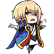 BlazBlue Calamity Trigger Emoticon JinK