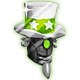 Cortex Command Badge Foil