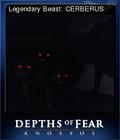 Depths of Fear Knossos Card 2