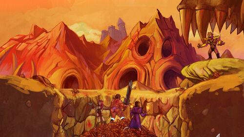 Dungeons The Eye of Draconus Artwork 2
