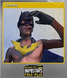 Gotham City Impostors Foil 1
