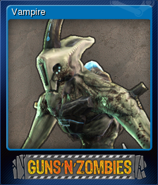 Guns n Zombies Card 2