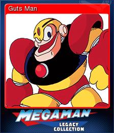 Mega Man Legacy Collection Card 2