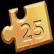 Pixel Puzzles 2 Birds Emoticon goldchunk