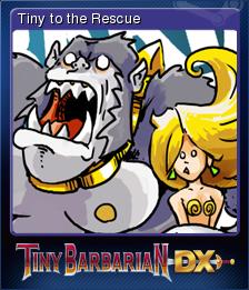 Tiny Barbarian DX Card 5