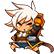 BlazBlue Chronophantasma Extend Emoticon Bullet
