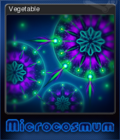Microcosmum survival of cells Card 2