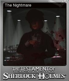 The Testament of Sherlock Holmes Foil 4