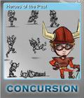 Concursion Foil 3