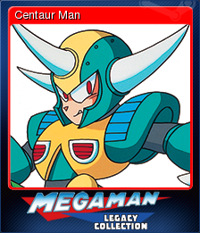 Mega Man Legacy Collection Card 1