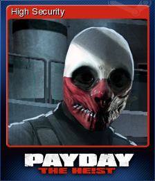PAYDAY The Heist Card 3